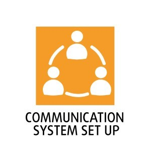 Communication system set up